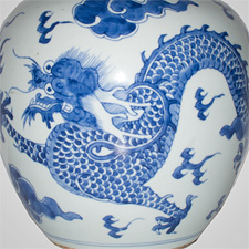 Example of Kangxi, Yongzheng and Qianlong famille rose and blue and white porcelain