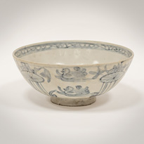 Swatow blue and white porcelain bowl - China, Ming Dynasty, Wanli period (1573-1619)