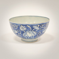 Blue and white bowl, China, Ming Dynasty, Wanli period (1573-1619) [thumbnail]