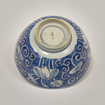 Blue and white bowl (base), China, Ming Dynasty, Wanli period (1573-1619) [thumbnail]