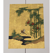 Kano School painting of bamboo - Japan,