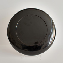 Tsugaru lacquer dish (bottom), Japan, early 20th century [thumbnail]