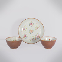 Batavian ware export porcelain wares - China, Qianlong period, circa 1750