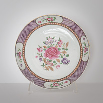 Famille rose dish - China, Qianlong, circa 1780