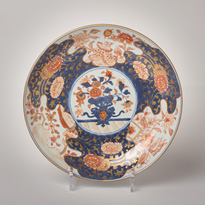 Imari porcelain dish - China, Qianlong, 18th century